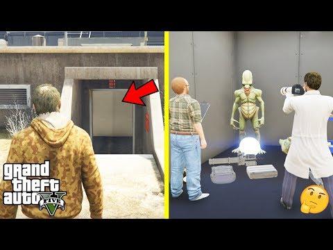 GTA 5 - I Entered The SECRET ELEVATOR And HANGAR in Fort Zancudo