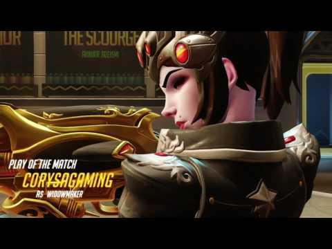 Widowmaker Play of the match comp