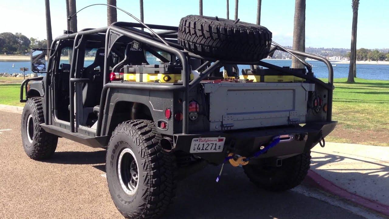 Hummer H1 Hmmwv Humvee Custom Youtube