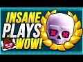 INSANE SUDDEN DEATH DECK SKILLS in CLASH ROYALE!!!