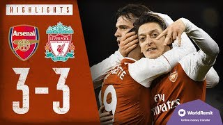 Arsenal 3-3 Liverpool | Arsenal Classics | Premier League highlights | 2017