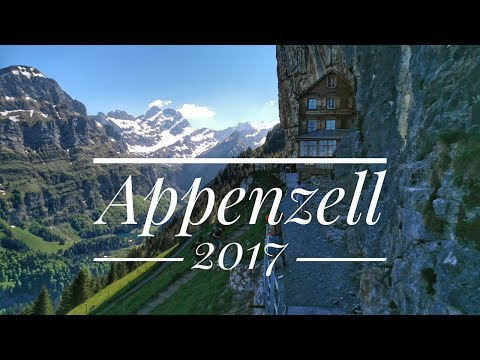 Appenzell   Switzerland   Hiking   2017   Yi 4k