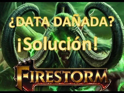 """Como reparar el Error de """"Data Dañada"""" en Wow Firestorm Legión"""