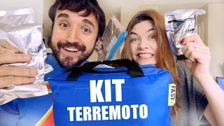 EXPERIMENTAMOS O KIT TERREMOTO DO CANADÁ - Ep. 1241