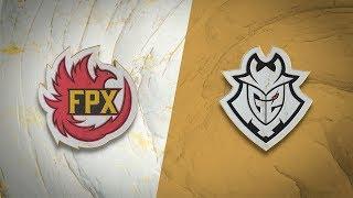 FPX vs G2 - Worlds 2019 S5D19P1 - Final