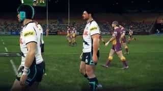 Rugby League Live 3 PC Gameplay 60FPS Beta - 1st half