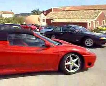 Concentración de Ferraris FERRARI CLUB ESPAÑA,