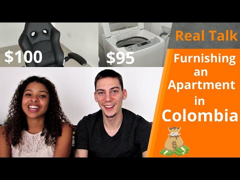 Furnishing an Apartment in Colombia | Real Talk Ep.5