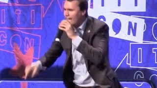 Unhinged Charlie Kirk Triggered by Cenk Uygur at Politicon