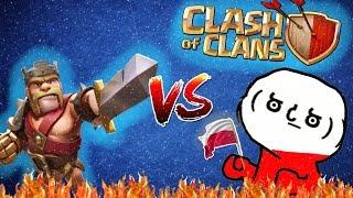 CLASH OF CLANS POLSKA - Vcurviony vs baryoszku