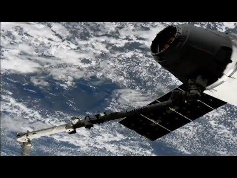 SpaceX CRS-14: Dragon capture, 4 April 2018