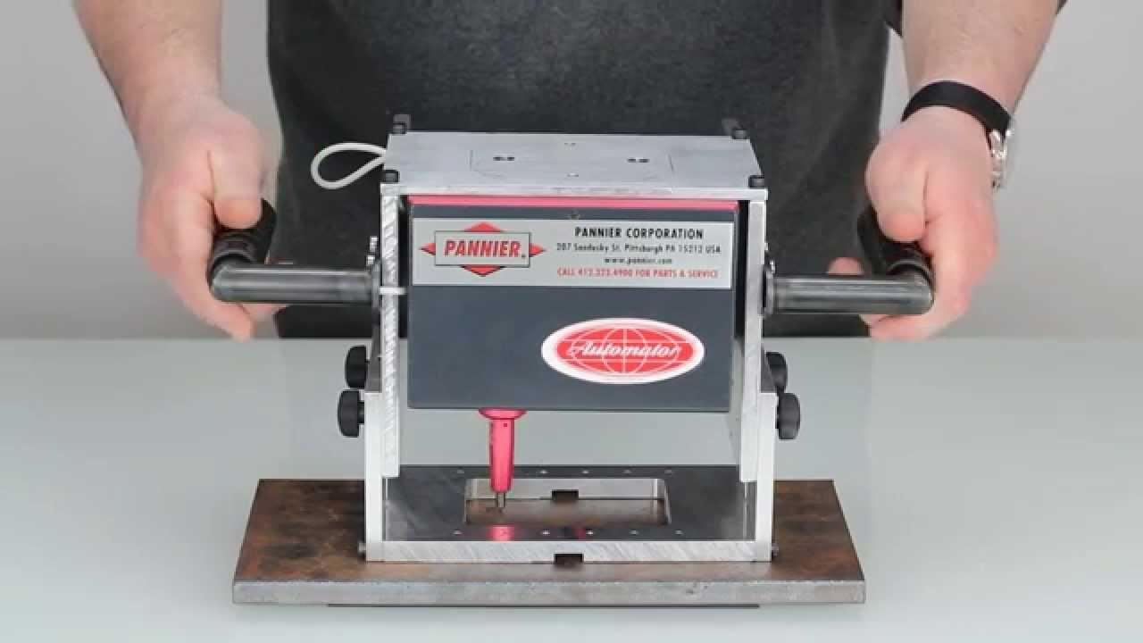 data plate engraving machine