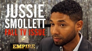 Empire Star Jussie Smollett Interview TheWrap Magazine Fall TV Issue Cover Shoot