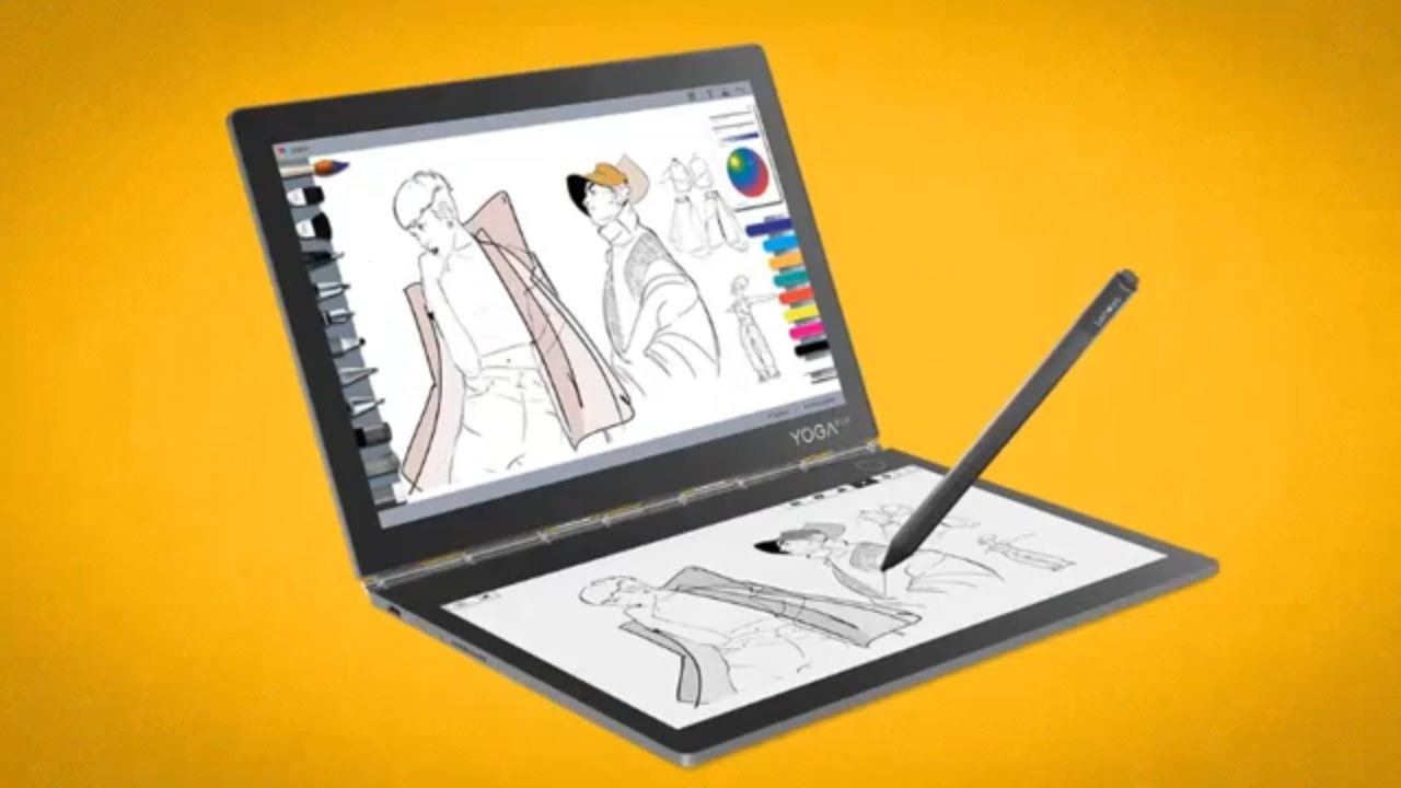 Image result for Lenovo launches two new Yoga laptops: Lenovo Yoga Book C630 and Lenovo Yoga Book C930