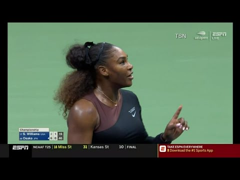Serena Williams' U.S. Open penalty has critics crying double standard
