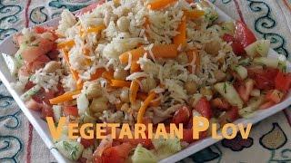 Vegetarian Plov (Вегетарианский плов)