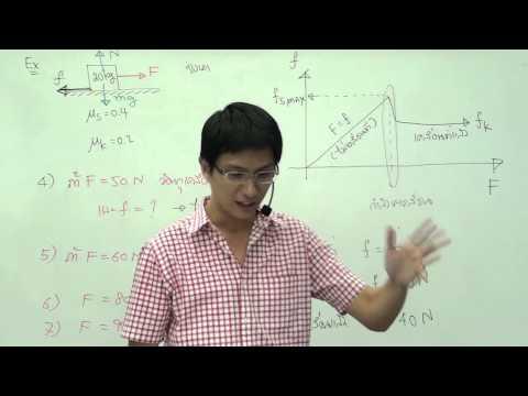 ฟิสิกส์ ม.4 บทที่3 กฎของนิวตัน (ครั้งที่1)