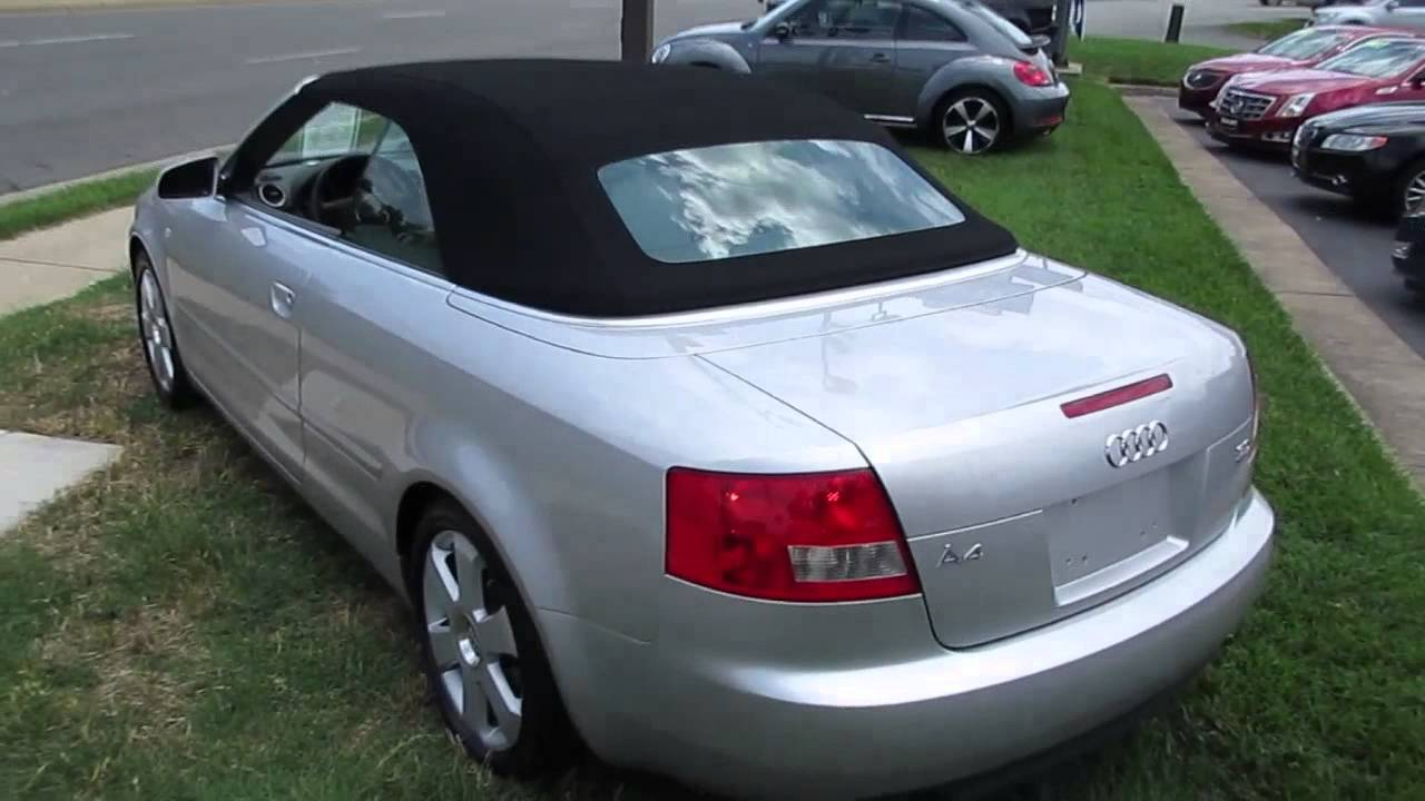 2006 Audi A4 3 0 Quattro Cabriolet Walkaround Start Up Tour And Overview
