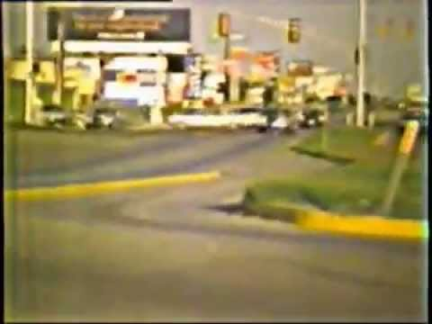 Home Video from a Moving Car in 1980 - Fort Worth