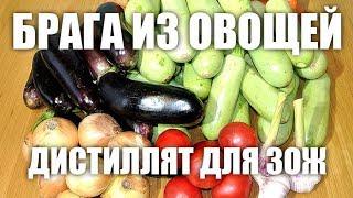 Брага из овощей. Дистиллят для ЗОЖ!
