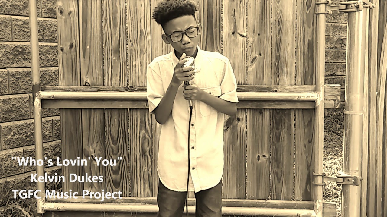 fa497121 Amazing little boy sings Michael Jackson song - Who's lovin' you