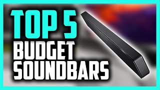 Best Budget Soundbar in 2020  5 Picks For Movies, Music & More