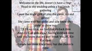 Chiddy Bang - Happening Lyric Video On Screen (HD)