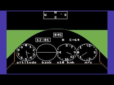 C64 Game: Skyrace