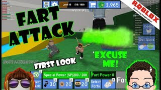Roblox - Fart Attack - First Look...