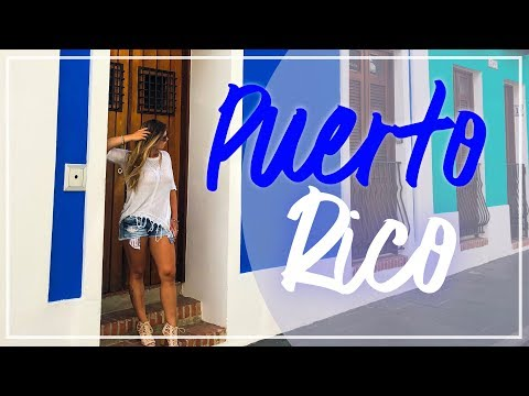 Puerto Rico 4K Video | Top Things to do in Puerto Rico | Forts of Old San Juan, La Perla Puerto Rico