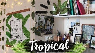 ТРОПИЧЕСКИЙ DIY  Room decor Декор комнаты Alina Gold