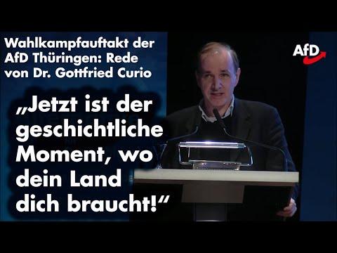 """""""Deutschland braucht eine alternative Politik"""" – Dr Curio beim Wahlkampfauftakt der AfD Thüringen"""