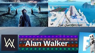 ON MY WAY - ALAN WALKER , Sabrina Carpenter & Farruko (Fortnite Music Blocks Remake) [With Code]