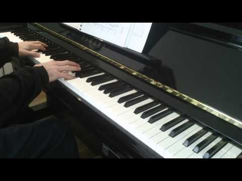 'Hokage's Funeral: Naruto No Theme' from Naruto, by Toshiro Maseda, for Piano