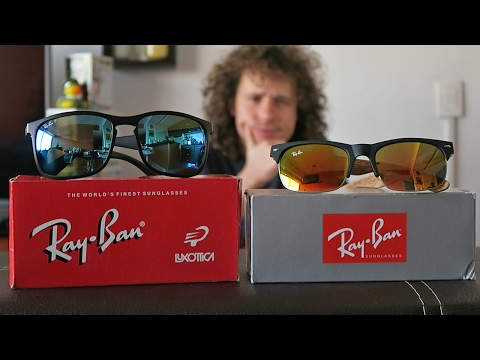 bc17cd316e Lentes ORIGINALES vs PIRATAS - YouTube