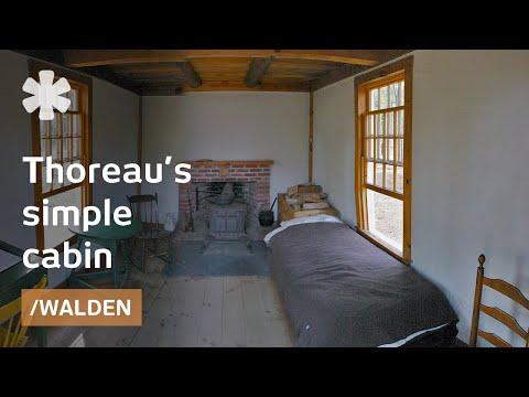 Thoreau's simple life at Walden