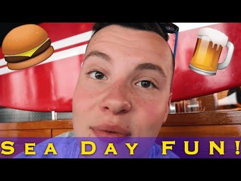 Sae Day Fun & Pub Games! | Ep. 7 Carnival Sunshine Cruise Vlogs