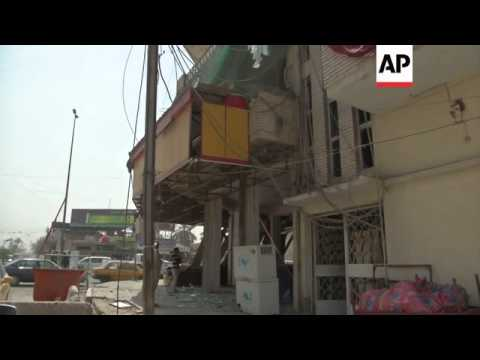 Aftermath of latest bomb blasts in Baghdad