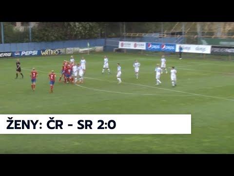Ženy A: česká republika - Slovensko 2:0 (1:0)