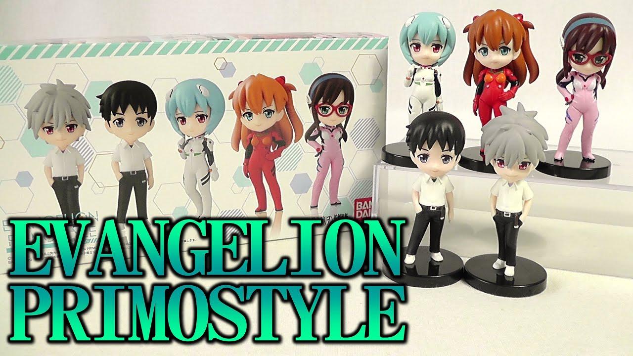 Evangelion Primostyle set of 5 figures