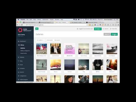 How to easily build an amazing photography website with Fotomerchant