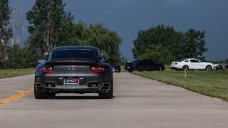 Alpha Performance Alpha 10 Porsche 997 Turbo VS. Aventador and C6 Z06