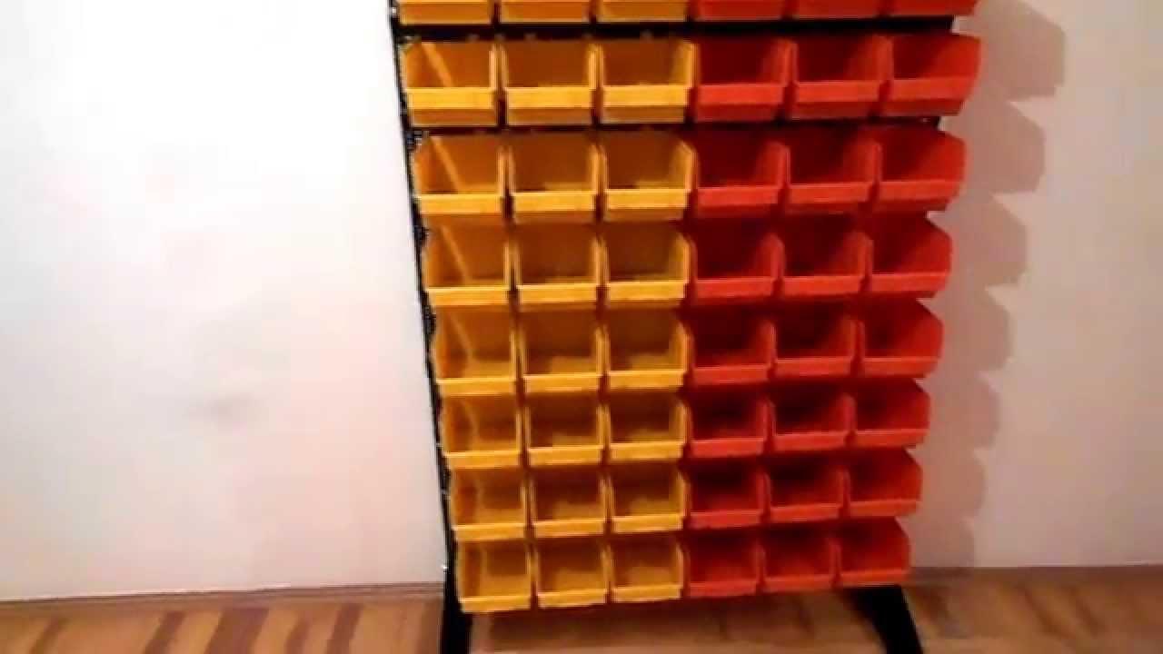 Складские лотки для склада ящики складские под метизы Logic Store .
