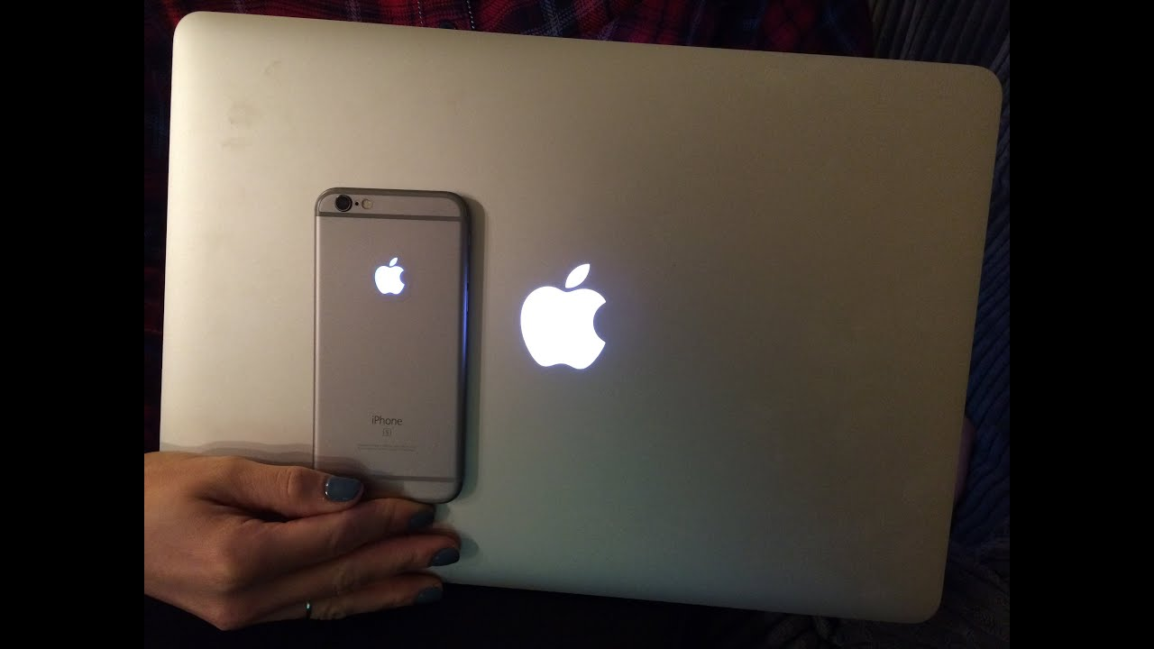 How To Make The Apple Logo On Your Iphone 6s Light Up Like A Macbook