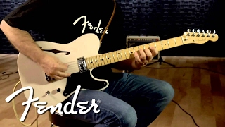 Fender Cabronita Tele Thinline Demo