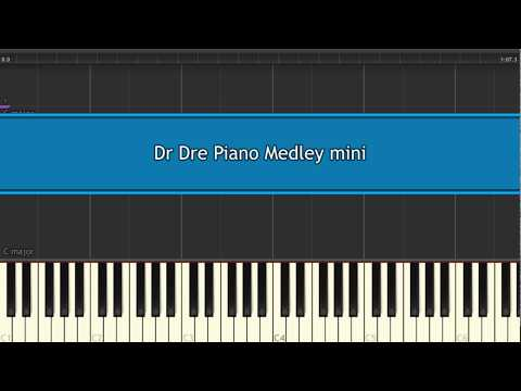 Want to learn Dr. Dre Piano Medley?  [Tutorial + Sheet music]