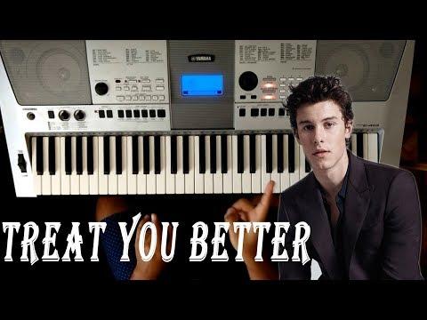 "Como Tocar "" Treat You Better "" En Piano - Tutorial Shawn Mendes"