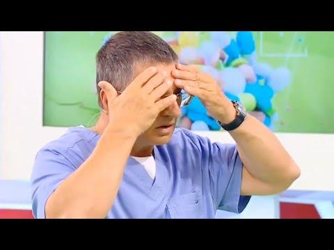 Голова болит в лобной доле