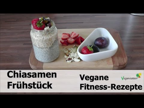 vegane fitness rezepte chiasamen pudding mit mandelmilch. Black Bedroom Furniture Sets. Home Design Ideas