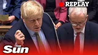 Prime Minister's Questions - Boris Johnson takes questions in parliament - LIVE